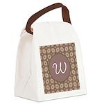 Prairie Paisley Monogram Canvas Lunch Bag
