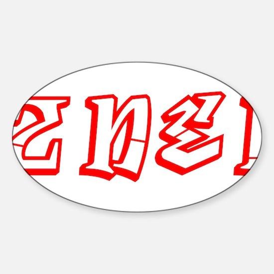 2NE1 de 2000 Sticker (Oval)