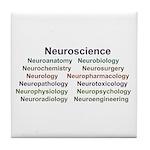 NeuroNames Tile Coaster