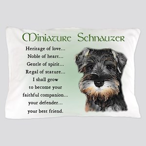 Miniature Schnauzer Pillow Case