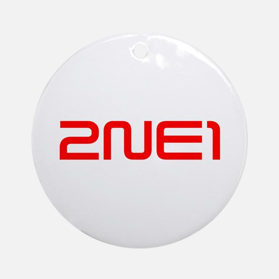 2NE1 logo 3000-500 Ornament (Round)
