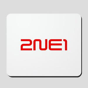 2NE1 logo 3000-500 Mousepad
