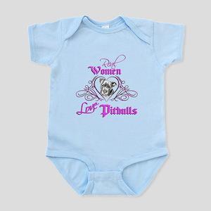 Real Women Love Pitbulls Infant Bodysuit