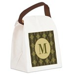 Olive Yeux Monogram Canvas Lunch Bag