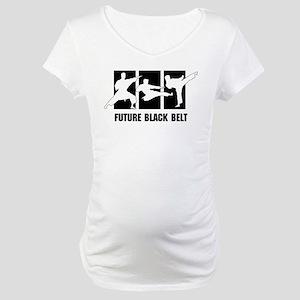 Future Black Belt Maternity T-Shirt