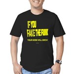 Fake The Funk Men's Fitted T-Shirt (dark)