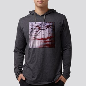 Misty Woods Mens Hooded Shirt