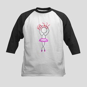 Pink Tutu-ArtinJoy Kids Baseball Jersey