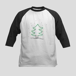 Christmas Tree - ArtinJoy Kids Baseball Jersey