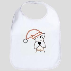 Christmas Dog-ArtinJoy Bib