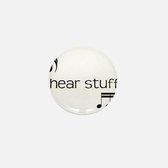 Funny Choir director Mini Button