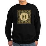Olive Yeux Monogram Sweatshirt (dark)