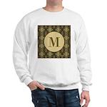 Olive Yeux Monogram Sweatshirt
