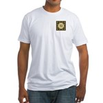 Olive Yeux Monogram Fitted T-Shirt