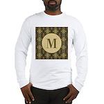 Olive Yeux Monogram Long Sleeve T-Shirt