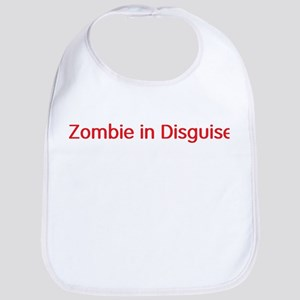 zombie in disguise Bib
