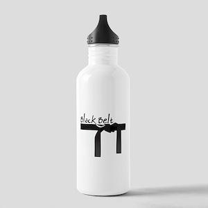 Black Belt Stainless Water Bottle 1.0L