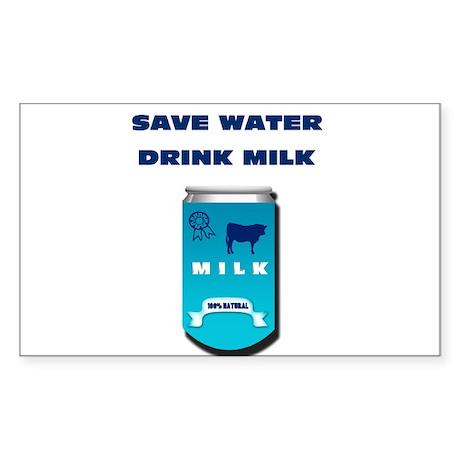 milk Sticker (Rectangle)