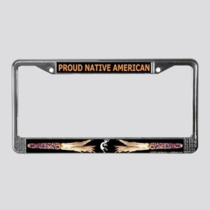 Proud NA/Indian Corn License Plate Frame