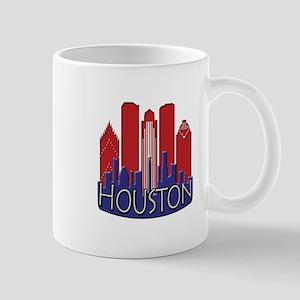 Houston Skyline NewWave Patriot Mug