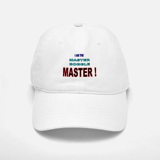 I am the Master Boggle MASTER Baseball Baseball Cap
