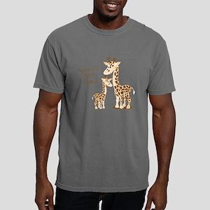 Giraffe, Mommy's Best Fr Mens Comfort Colors Shirt