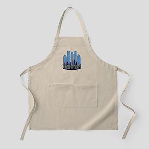 Houston Skyline NewWave Cool Apron