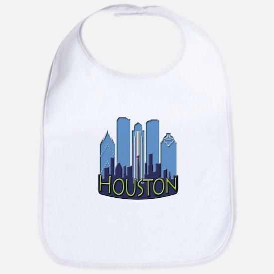 Houston Skyline NewWave Cool Bib