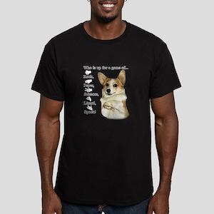 RPSLS Little Dott Men's Fitted T-Shirt (dark)