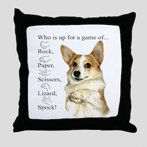 RPSLS Little Dott Throw Pillow
