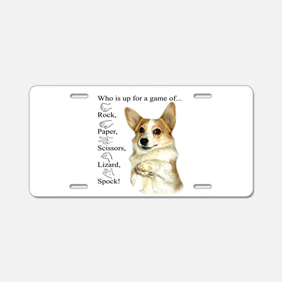 RPSLS Little Dott Aluminum License Plate