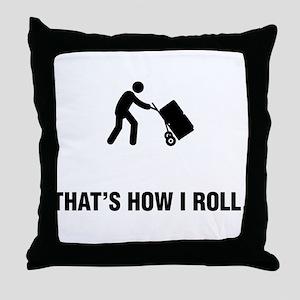 Mover Throw Pillow