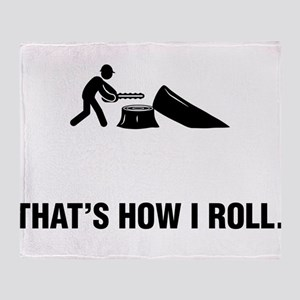 Logger Throw Blanket