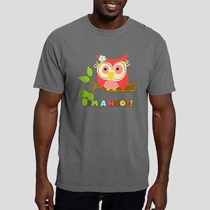 Owl Im a Hoot Mens Comfort Colors Shirt