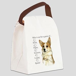 RPSLS Little Dott Canvas Lunch Bag