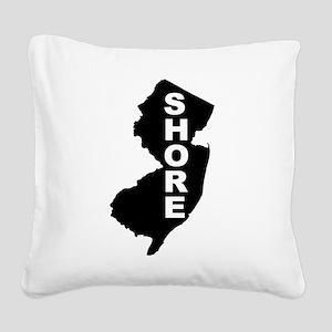 Jersey Shore Square Canvas Pillow