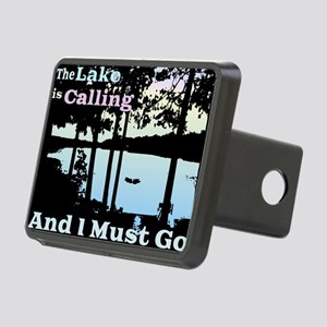 The Lake is Calling and I Must Go Rectangular Hitc