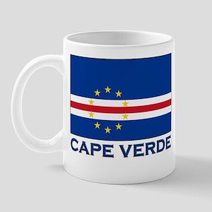 Cape Verde Flag Merchandise Mug