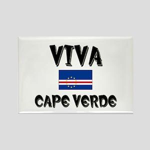 Viva Cape Verde Rectangle Magnet