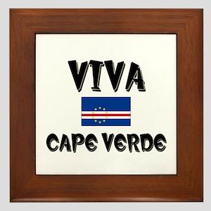 Viva Cape Verde Framed Tile