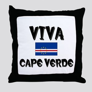 Viva Cape Verde Throw Pillow