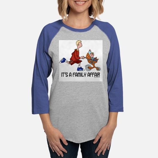 family affair shirt.jpg Womens Baseball Tee