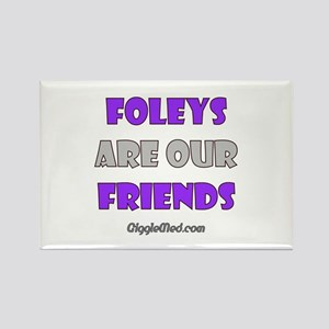 Foley Friends Rectangle Magnet