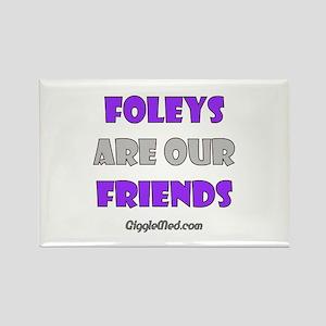 Foley Friends Rectangle Magnet