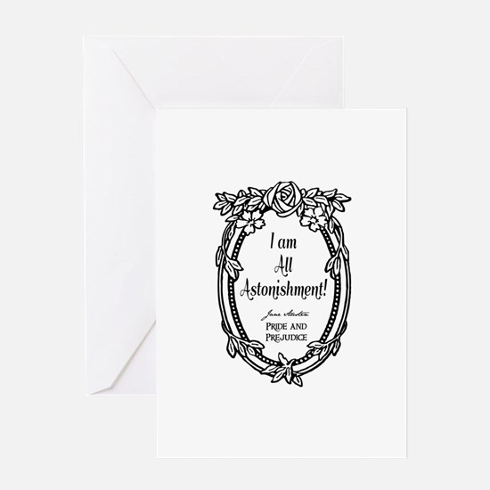 I Am All Astonishment Greeting Card