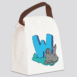 W For Warus Canvas Lunch Bag