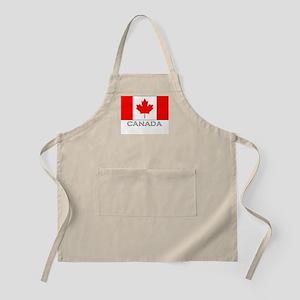 Canada Flag Stuff BBQ Apron