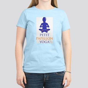 Petit Papillon Yoga Logo Women's Light T-Shirt