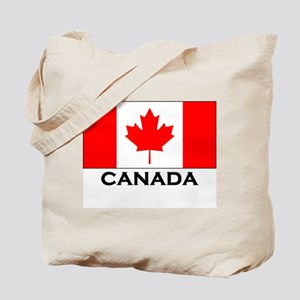 Canada Flag Gear Tote Bag