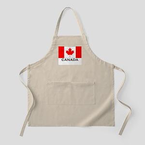 Canada Flag Gear BBQ Apron